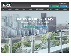 SWR Balustrade website screen grab