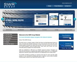 screen shot of swrgroup.com